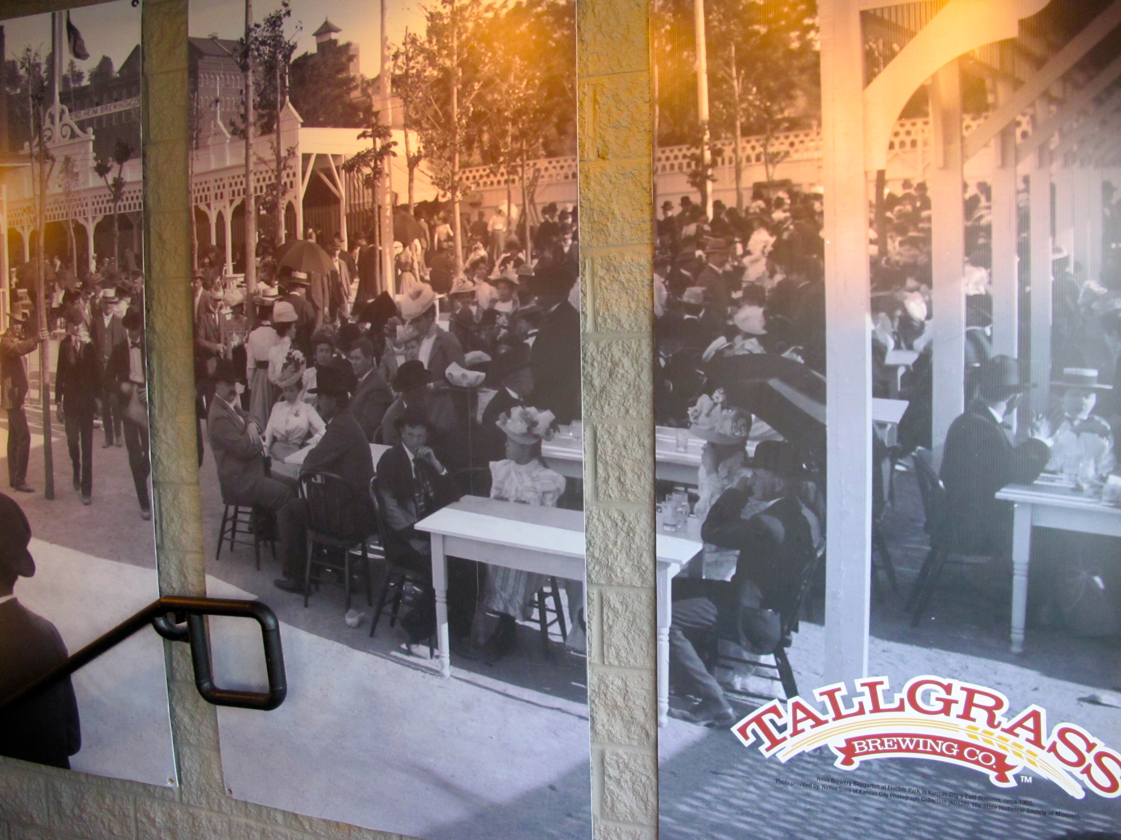 Image of the Heim Beer Garden in KCK